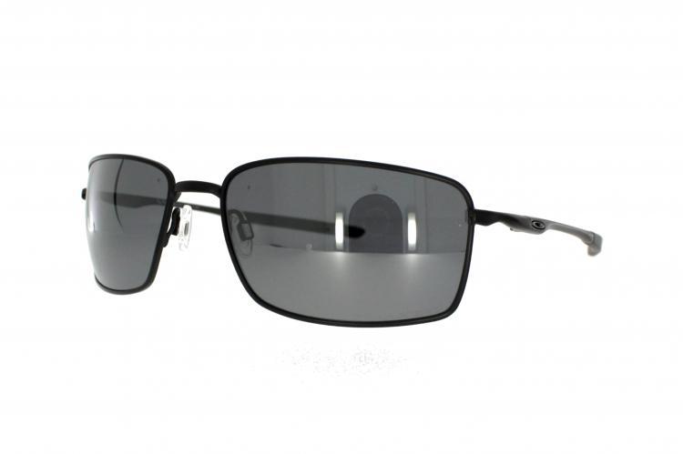 Oakley Sonnenbrille Sqaure Wire OO 4075 05 Gr. 60 in schwarz matt pol.