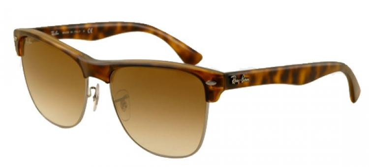 Ray Ban Sonnenbrille Clubmaster Oversized RB 4175 878/51 Gr. 57