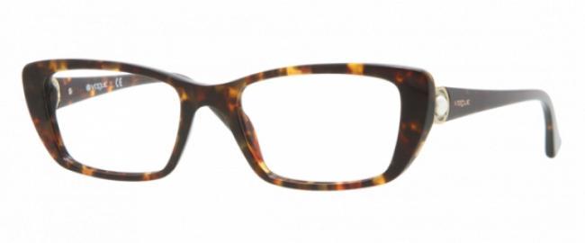 Vogue Brille VO 2749H W656 Größe 51 in der Farbe dunkles havana/ dark havana