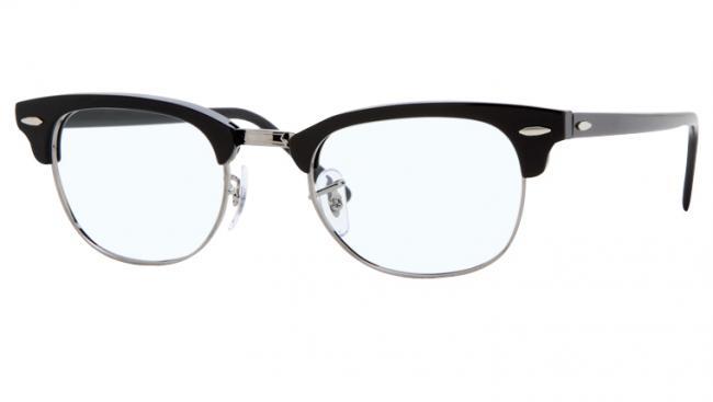 Ray Ban Ray-Ban Brille Clubmaster RX 5154 2000 Größe 49 schwarz