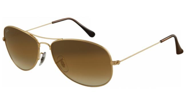 Ray Ban Ray-Ban Sonnenbrille Cockpit RB 3362 001/51 Gr.59 in der Farbe arista / gold