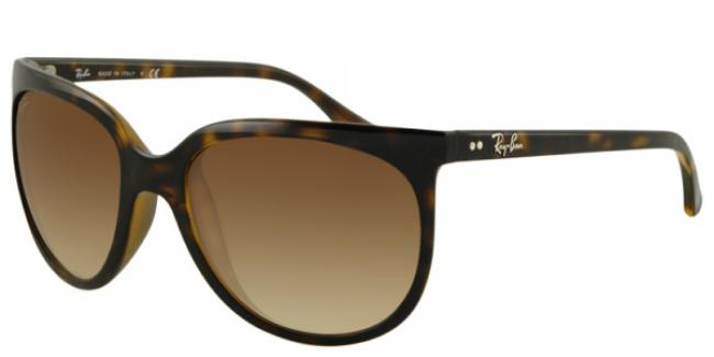 Ray Ban Ray-Ban Sonnenbrille Cats 1000 RB 4126 710/51 in der Farbe light havanna