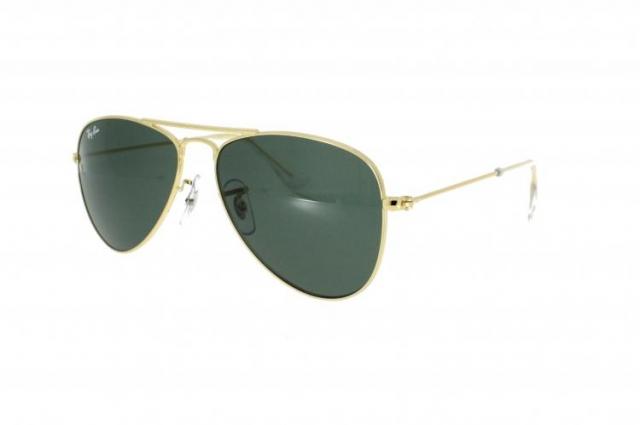 Ray Ban Sonnenbrille Aviator Junior JR 9506S in gold