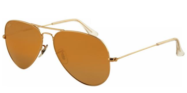 Ray Ban Ray-Ban Sonnenbrille Aviator Large Metal RB 3025 001/57 Gr.58 in der Farbe arista / gold Pol