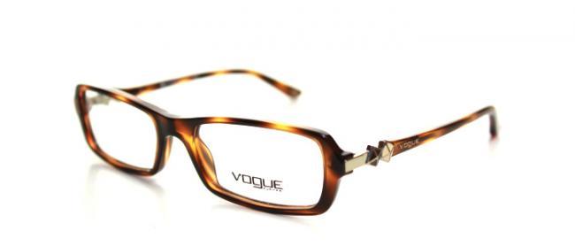 Vogue Brille VO 2673 1553 Gr.50 in der Farbe havanna / braun