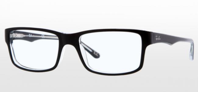 Ray Ban Ray-Ban Brille RX 5245 2034 Größe 52/17 Farbe schwarz/ black