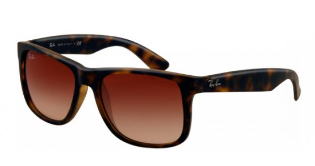 Ray Ban Ray-Ban Sonnenbrille Justin RB 4165 710/13 Gr. 54 in der Farbe havanna - Daniel Hartwich Brille