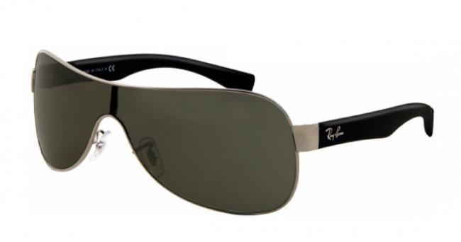 Ray Ban Ray-Ban Sonnenbrille RB 3471 004/71 in der Farbe schwarz - silber