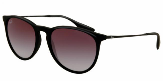 Ray Ban Ray-Ban Sonnenbrille Erika RB 4171 622/8G in der Farbe schwarz