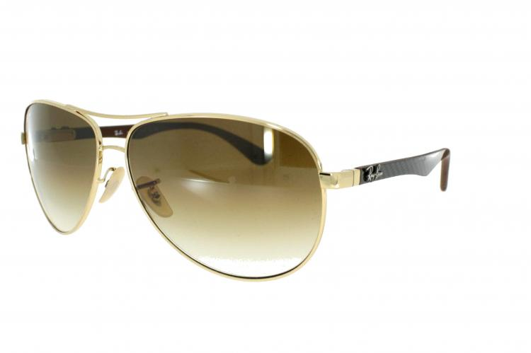Ray Ban Ray-Ban Carbon Sonnenbrille 8313 001/51 Gr.58 in der Farbe gold