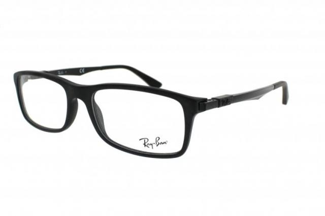 ray ban brille rx 7017 gr 54 17 in matt schwarz. Black Bedroom Furniture Sets. Home Design Ideas