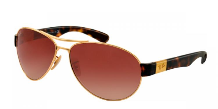 Ray Ban Ray-Ban Sonnenbrille RB 3509 001/13 in der Farbe arista / gold