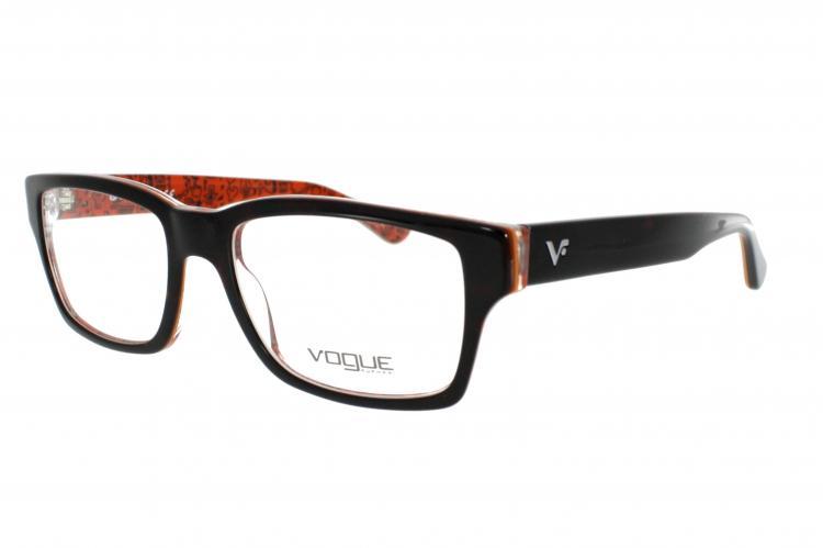 Vogue Brille VO 2806 2103 Gr.52 in der Farbe dark havana / dunkel havana