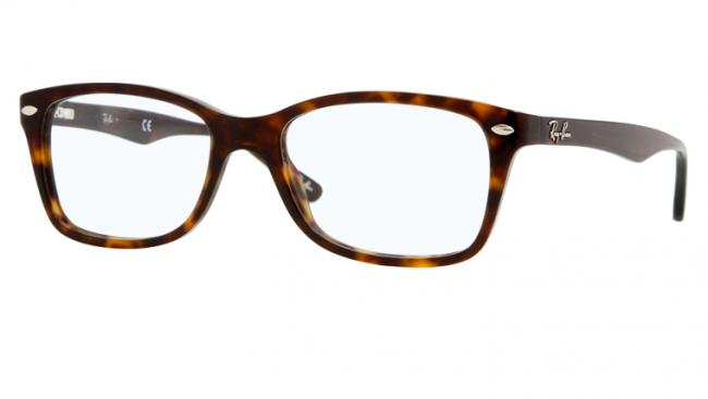 Ray Ban Ray-Ban Kunststoff Brille RX 5228 2012 Gr.55