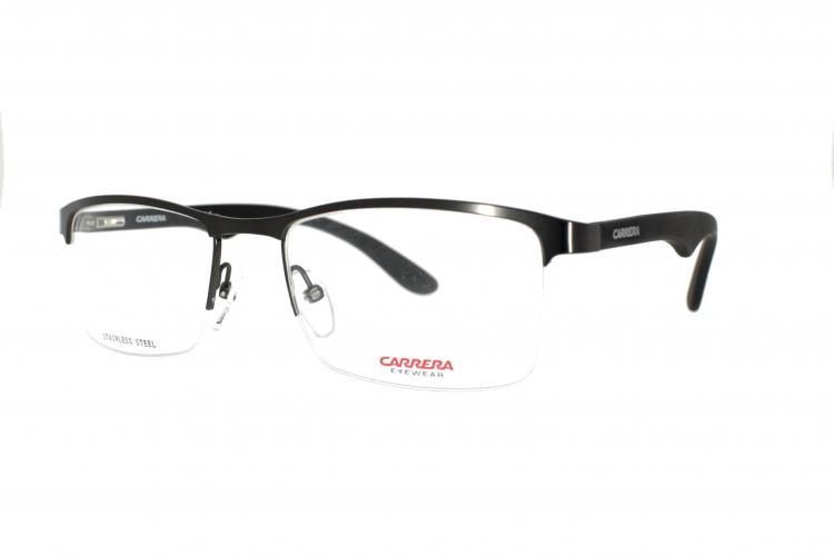 Carrera Brille CA 6623 XVD Gr. 54 in silber schwarz