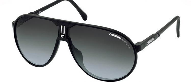 Carrera Sonnenbrille Champion DL5 Gr. 62 in der Farbe matt schwarz