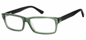 41b909fa2cebfc Brillenbild LC Brille LO-A104C klar grün-schwarz