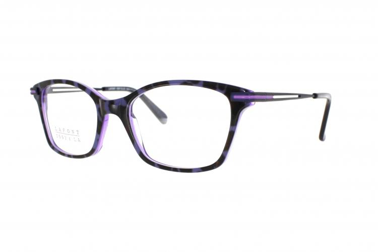 Lafont - ISSY & LA Brille Margot 710 Gr. 50 in Lila Animalprint
