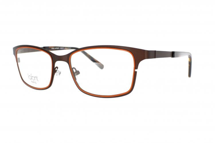 Jean Lafont Paris Brille Norman 553 Gr. 52 in Braun / Orange