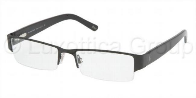 polo ralph lauren brille ph 1067 9038 in der farbe matte black schwarz. Black Bedroom Furniture Sets. Home Design Ideas