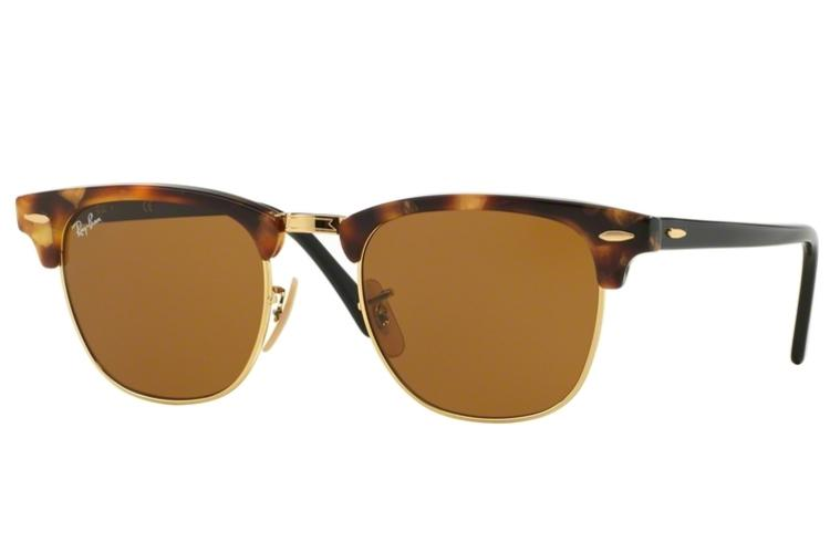Ray Ban Ray-Ban Sonnenbrille Clubmaster RB 3016 1160 Größe 49