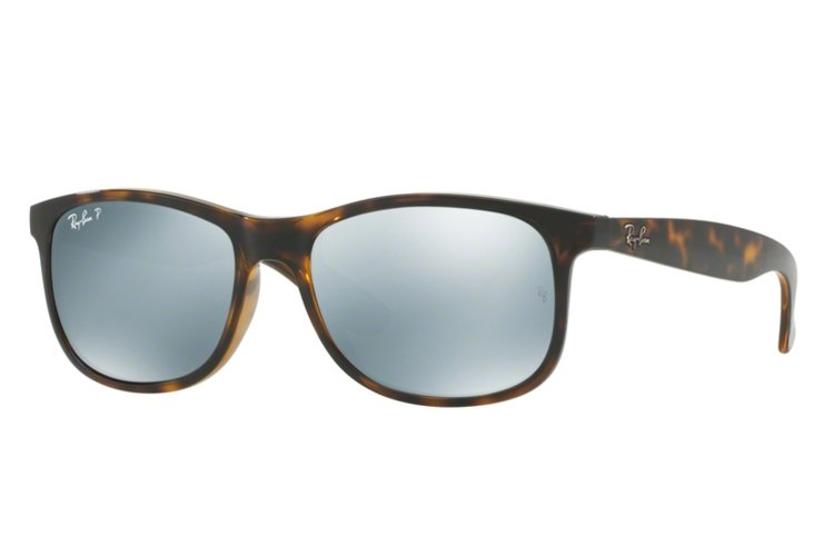 Ray Ban Sonnenbrille Andy RB 4202 710/Y4 Größe 55