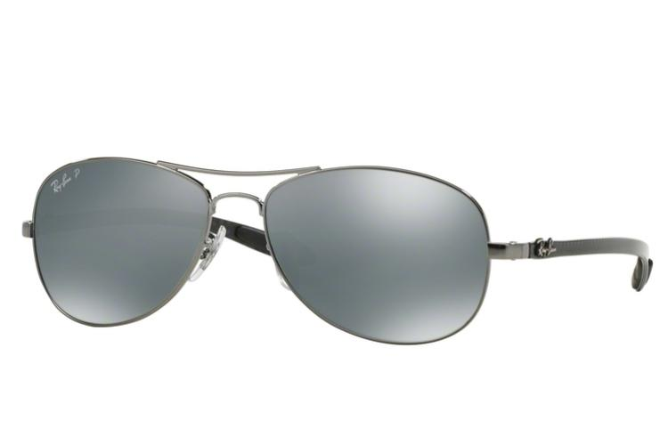 Ray Ban Ray-Ban Carbon Sonnenbrille RB 8301-004/K6 Größe 59