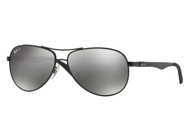 Ray Ban Ray-Ban Carbon Sonnenbrille RB 8313-002/K7 Größe 61