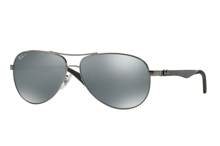 Ray Ban Ray-Ban Carbon Sonnenbrille RB 8313-004/K6 Größe 61