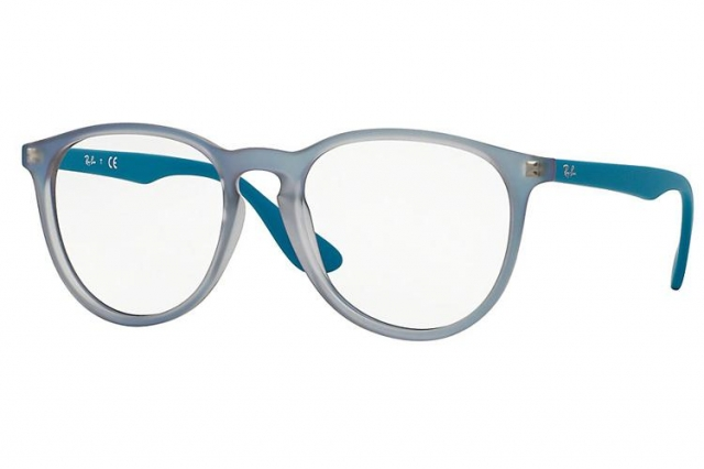 ray ban brille rx 7046 5484 in blau. Black Bedroom Furniture Sets. Home Design Ideas