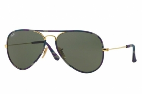 Ray Ban Sonnenbrille Aviator Large Metal RB 3025 L2823 Gr.58 in der Farbe black