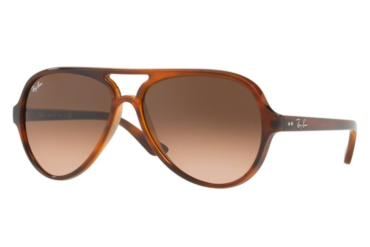 Ray Ban CATS 5000 Aviator Sonnenbrille Im Matt Transparent