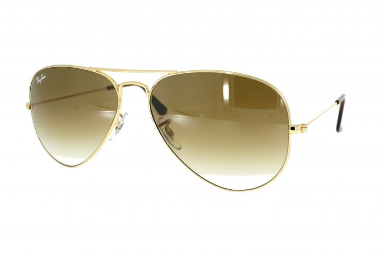Ray Ban Sonnenbrille Aviator Large Metal RB 3025 00151 Gr.58 in der Farbe arista gold
