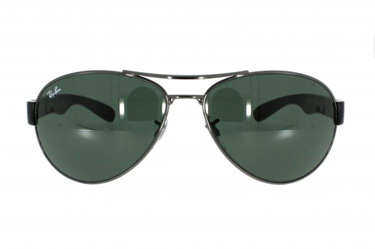ray ban sonnenbrille rb 3509 004 71 gr 63 in silber. Black Bedroom Furniture Sets. Home Design Ideas